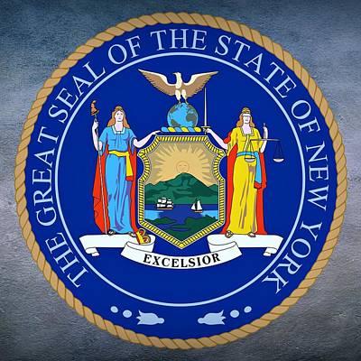 New York State Seal Art Print