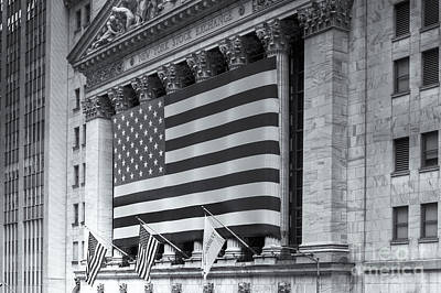 Black Commerce Photograph - New York Stock Exchange Iv by Clarence Holmes