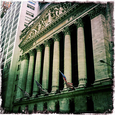 Photograph - New York Stock Exchange by Randy Green