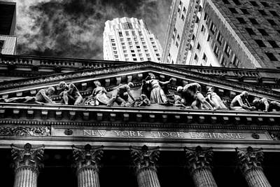 Photograph - New York Stock Exchange by Jose Maciel