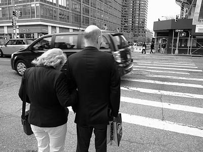 Photograph - New York Street Photography 13 by Frank Romeo