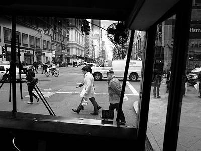 Photograph - New York Street Photography 20 by Frank Romeo