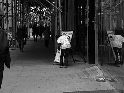 Photograph - New York Street Photography 26 by Frank Romeo