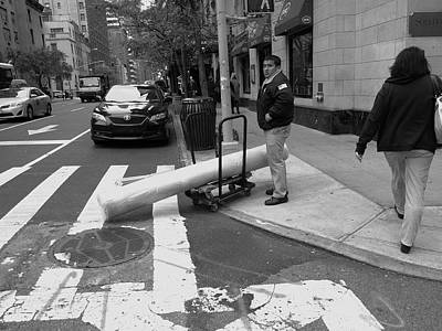 Photograph - New York Street Photography 37 by Frank Romeo