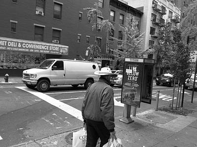 Photograph - New York Street Photography 46 by Frank Romeo