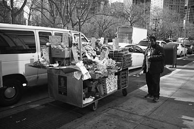 New York Street Photography 5 Art Print by Frank Romeo