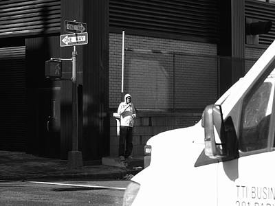 Photograph - New York Street Photography 53 by Frank Romeo