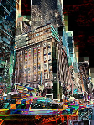 Photograph - Fifth Avenue 2 - New York Street Scene by Miriam Danar