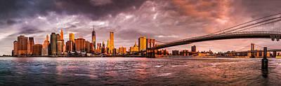 Photograph - New York Sunrise by Mihai Andritoiu