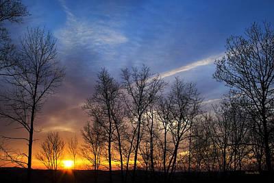 Photograph - New York Sunset by Christina Rollo
