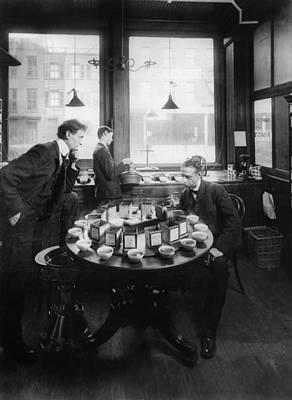 Tasting Photograph - New York Tea Tasting, 1904 by Granger