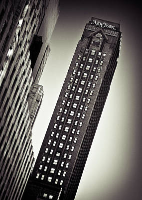 Photograph - New York Time by Dave Bowman