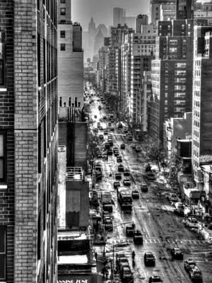 Skyscraper Photograph - New York Tm 003 by Lance Vaughn
