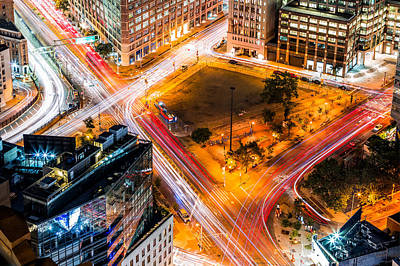 Photograph - New York Traffic by Mihai Andritoiu