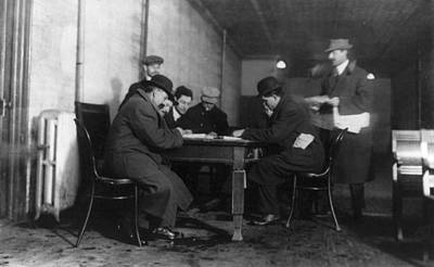 Photograph - New York Unemployment by Granger