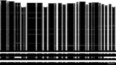 Human Brain Mixed Media - New York View From The Balcony  by Sir Josef - Social Critic -  Maha Art
