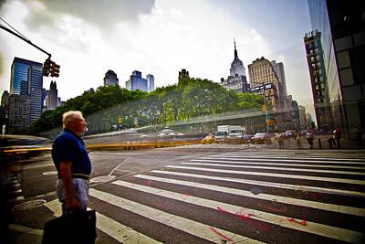 New York - Waiting... Art Print by Amador Esquiu Marques