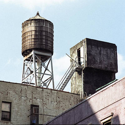 Photograph - New York Water Tower 5 - New York City Experience by Gary Heller