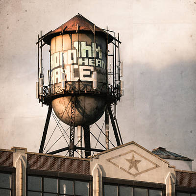 Photograph - New York. Water Towers 6 by Gary Heller