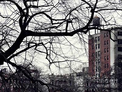 New York Winter Day 2 Print by Sarah Loft