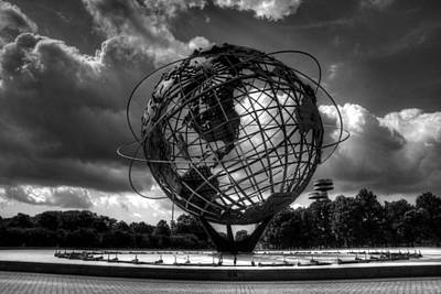 Outerspace Patenets Rights Managed Images - New York Worlds Fair Remembered Royalty-Free Image by Jeff Watts