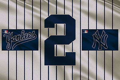 New York Yankees Photograph - New York Yankees Derek Jeter by Joe Hamilton