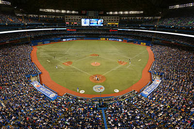 Photograph - New York Yankees V. Toronto Blue Jays by Mark Cunningham