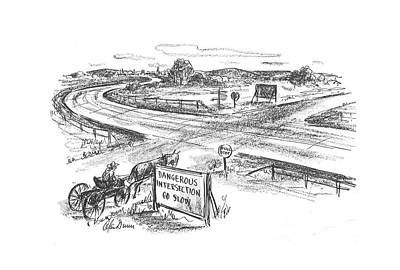 New Yorker April 10th, 1943 Art Print