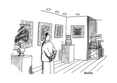 New Yorker April 10th, 1995 Print by Jack Ziegle