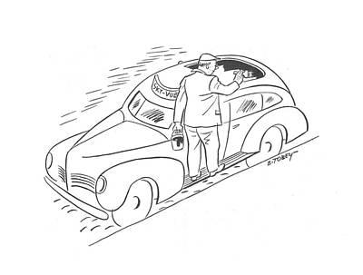 New Yorker April 11th, 1942 Art Print