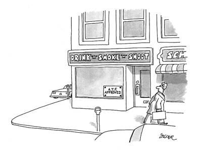 New Yorker April 12th, 1993 Art Print by Jack Ziegler
