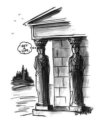 New Yorker April 12th, 1993 Art Print by Warren Miller