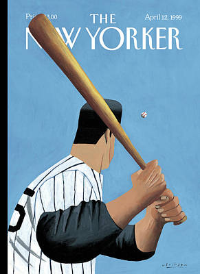 Slugger Painting - New Yorker April 12th, 1999 by Mark Ulriksen