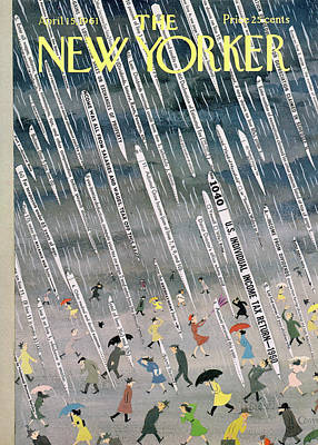 Painting - New Yorker April 15th, 1961 by Charles E Martin