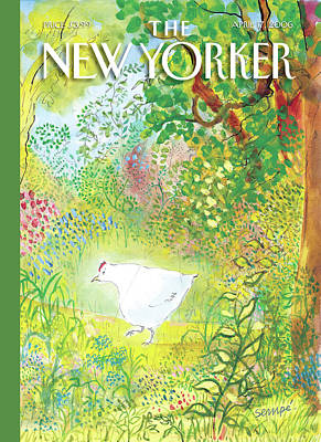 Jean-jacques Sempe Painting - New Yorker April 17th, 2006 by Jean-Jacques Sempe