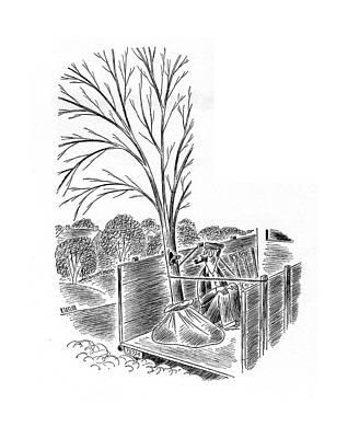 New Yorker April 19th, 1941 Art Print