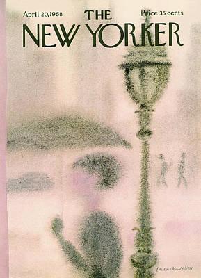 New Yorker April 20th, 1968 Art Print by Laura Jean Allen