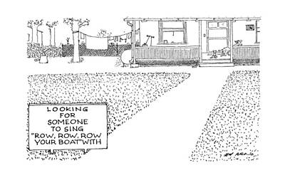 House Drawing - New Yorker April 20th, 1987 by Ed Arno