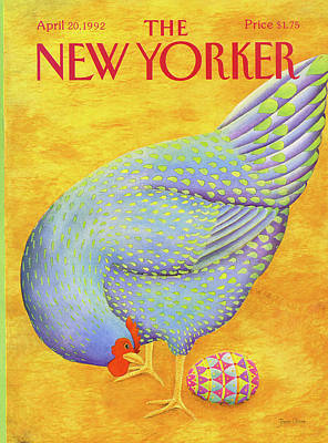 1992 Painting - New Yorker April 20th, 1992 by Jenni Oliver