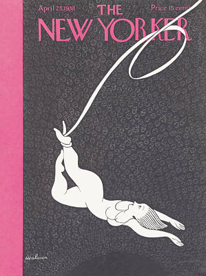 New Yorker April 23rd, 1938 Art Print by Christina Malman