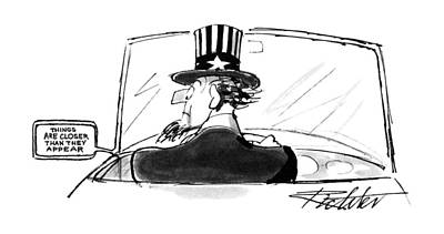 Things Drawing - New Yorker April 24th, 1995 by Mischa Richte