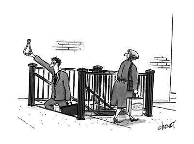 New Yorker April 24th, 1995 Art Print