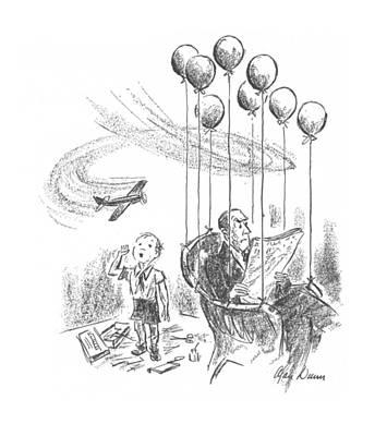 New Yorker April 25th, 1942 Art Print by Alan Dunn