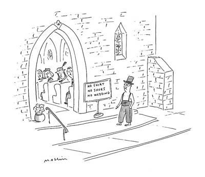 New Yorker April 26th, 1999 Art Print by Michael Maslin