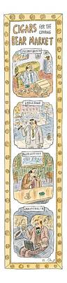 New Yorker April 26th, 1999 Art Print by Roz Chast
