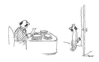 New Yorker April 27th, 1987 Art Print by Al Ross