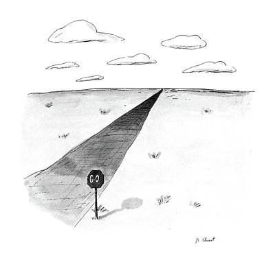 Change Drawing - New Yorker April 27th, 1987 by Roz Chast