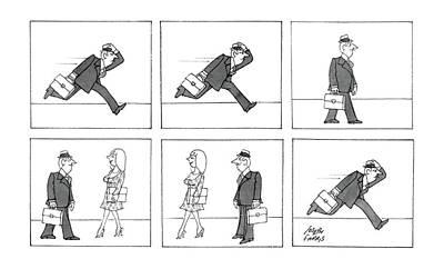 New Yorker April 28th, 1986 Art Print by Joseph Farris