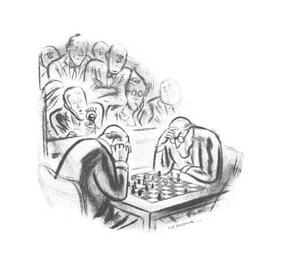 New Yorker April 29th, 1944 Art Print by Leonard Dove