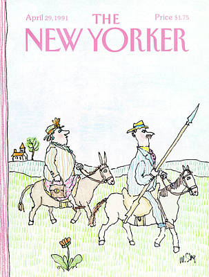 Ride Painting - New Yorker April 29th, 1991 by William Steig